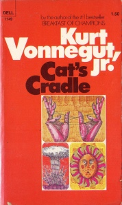 Cover of 1976 edition of Cat's Cradle