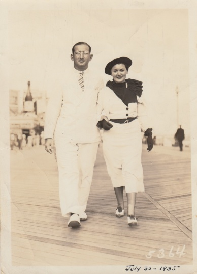 Louis and Goldye Klein im 1935.