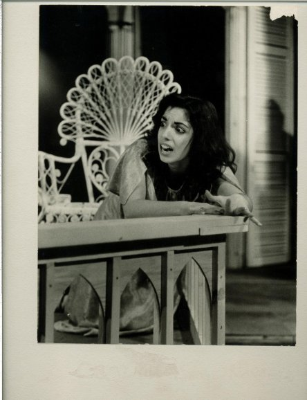 Nancy Caronia as Catharine in Tennessee Williams' Suddenly, Last Summer.