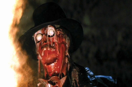 A melting bad guy:  Raiders of the Lost Ark, 1981