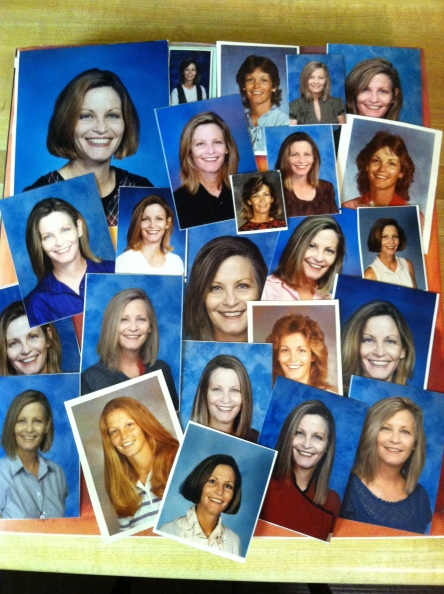 Thirty years of faculty photos really do tell a story. . .