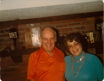 The author's father and his wife Barb