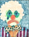 The clown, drawn from the author's memory. . .