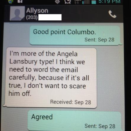 columbo text