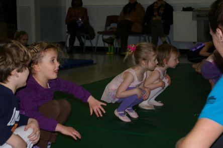 Gymnastics class in 2010.
