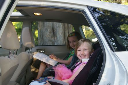 Carpooling to school in 2011.