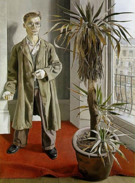 Lucien Freud's portrait of Harry Diamond